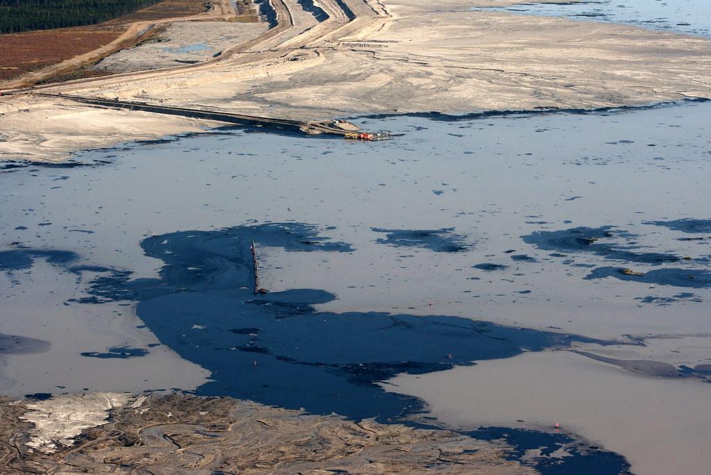 Oil sands basin