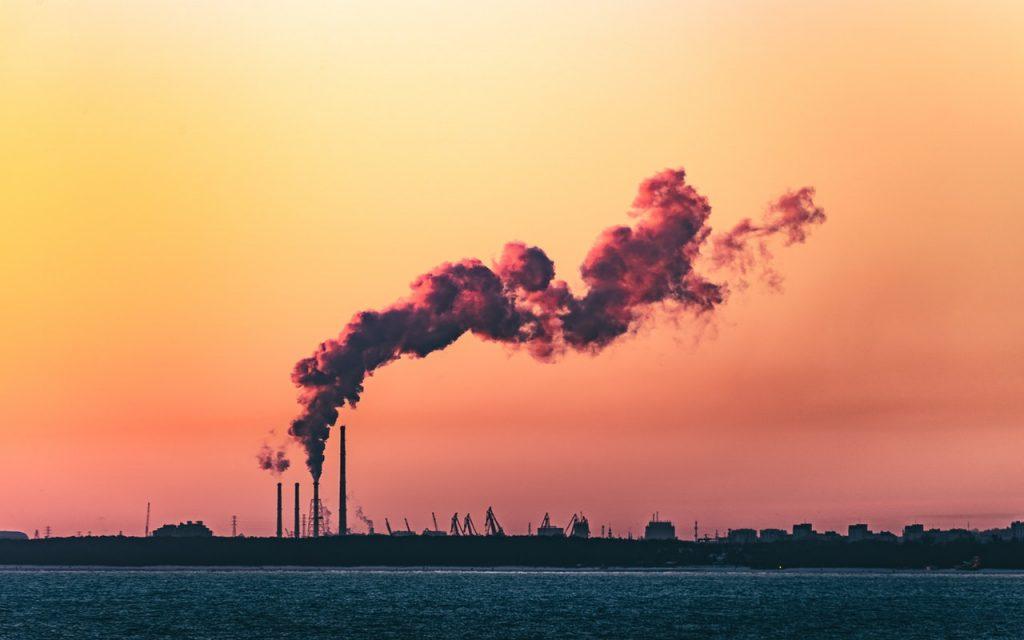 co2 emitting plant, carbon capturing
